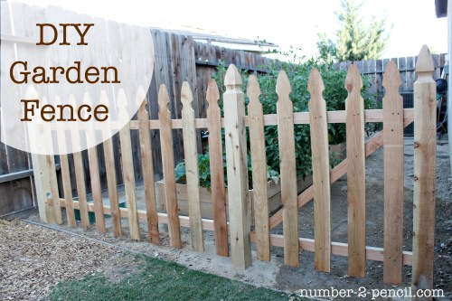 Medium Of Diy Backyard Fence