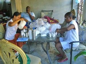 Food and health justice, Haiti clinic