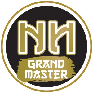 NN Sticker GOLD Grand Master