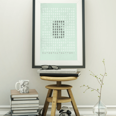 speciale datums poster groen featured