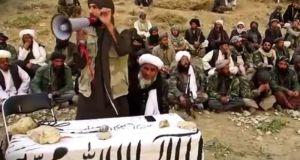 د طالبانو له یوې تبلیغاتي ویډیو څخه اخیستل شوی انځور