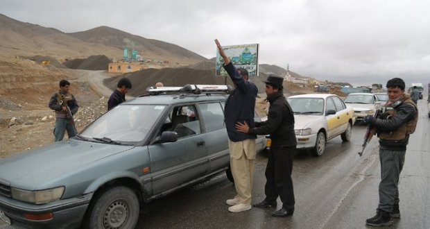 afghanistan-security-control-point