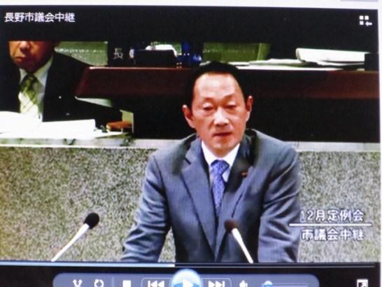 斎場利用料金15,000円に反対討論…長野市議会HP議会中継より