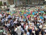 杉尾ひでや必勝へ…3野党代表の街頭演説に1000人超