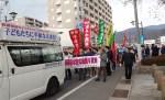 自衛隊松本駐屯地祭…実戦さながらの模擬戦闘に抗議