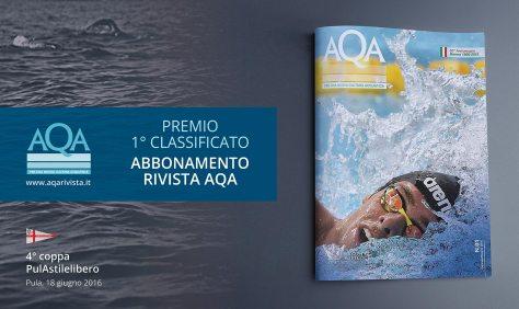 premio abbonamento rivista AQA ai primi classificati al trofeo PulAstilelibero
