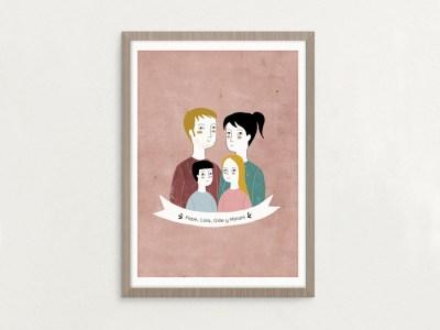Ilustracion personalizada por Nuria Diaz
