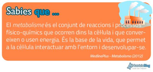 SabiesQue---Metabolisme