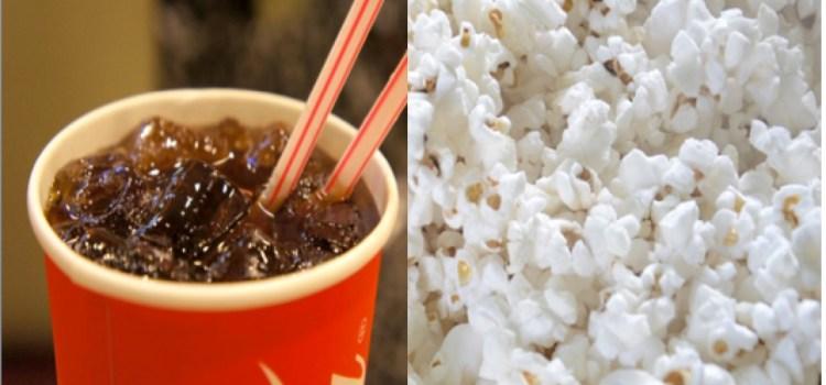 ¿Cuántas calorías tomamos en el cine?
