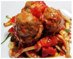 Amazing Spaghetti and Meatballs Dish That is 100 Percent Plant Based.