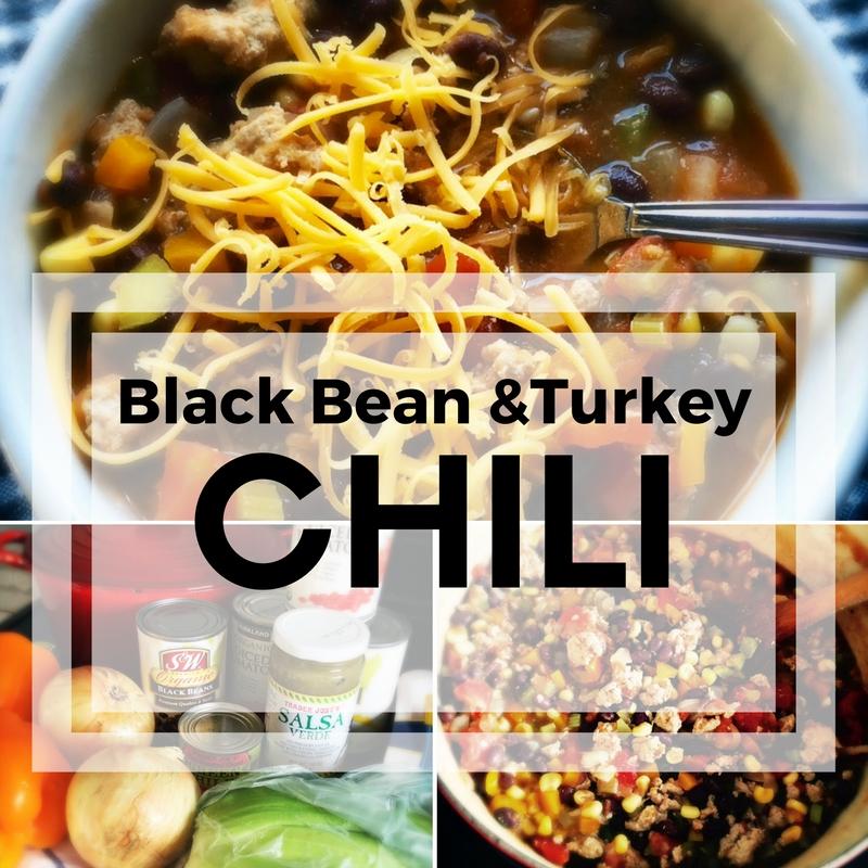 Black Bean & Turkey Chili