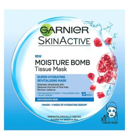 Garnier SkinActive Maschera in Tessuto Hydra Bomb