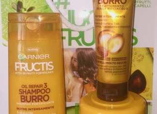 #nuovofructis Fructis Burro di Karité