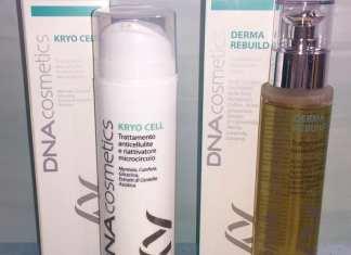 Kryo Cell e Derma Rebuild DNA Cosmetics