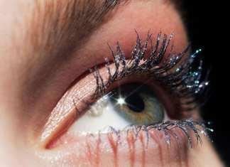 Estee Lauder Top Coat Glitter per Mascara Pure Color Envy Crystal Lash Top Coat