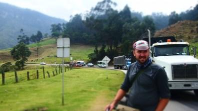 Alban Facatativa arasi rampa cikarken