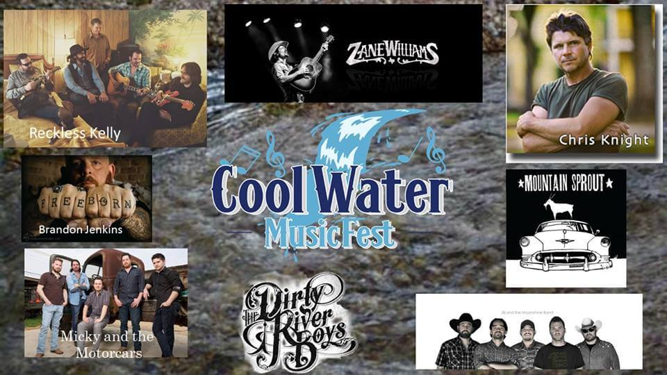 Cool Water Music Fest Set For September