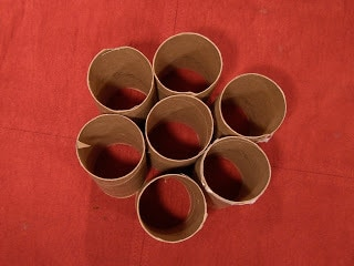 Homemade Biodegradable Pots From Toilet Paper Tubes