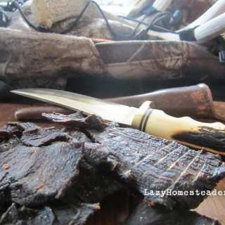 Lazy Homesteader: Venison Jerky