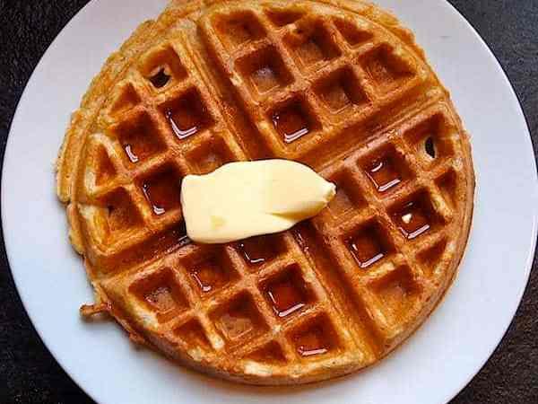 Homemade DIY Whole Wheat Waffle Mix
