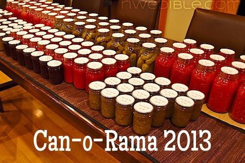 Can-o-Rama 2013