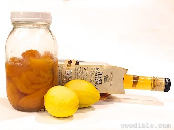 Peach Bourbon Cocktail