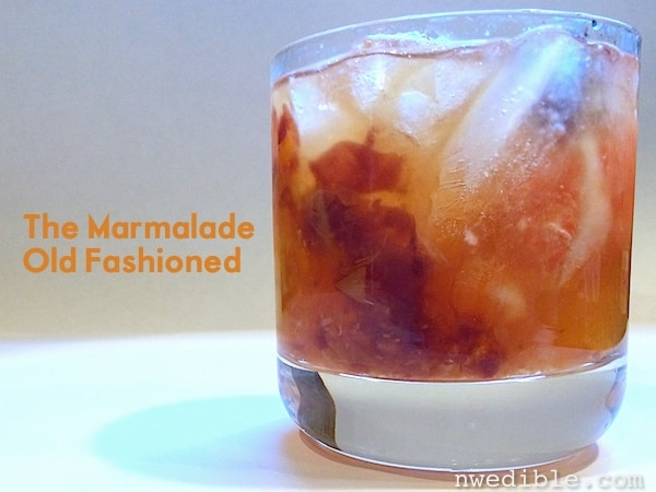 The Marmalade Old Fashioned