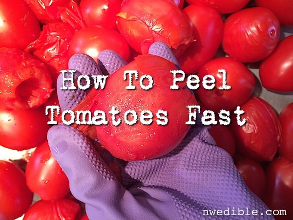 How To Peel A Lot Of Tomatoes Fast