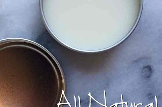 How To Make All Natural Beeswax Lip Balm