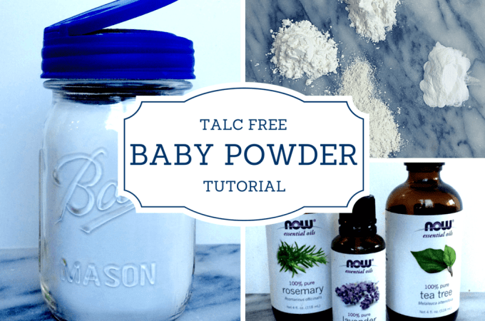 DIY Talc-Free Baby Powder