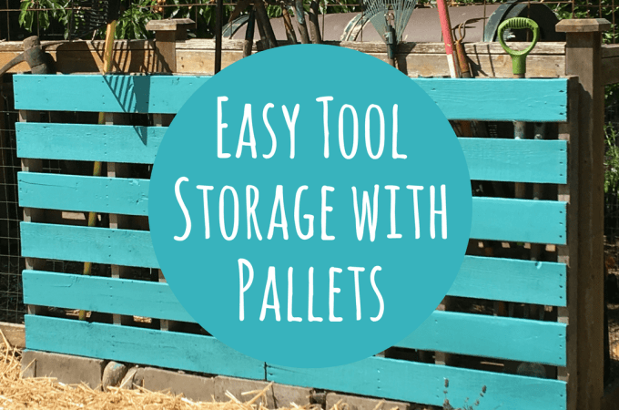 Build A Super Simple Tool Rack From A Pallet