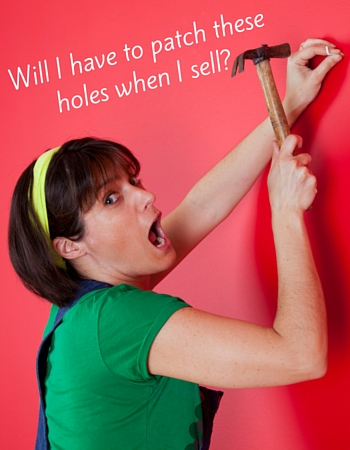 Do You Have to Patch Nails Holes in Your Sold House before You Move?