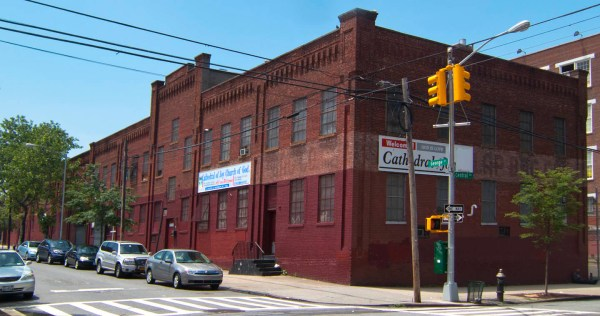 Williamsburg Church of God moved to Bushwick and changed name to Cathedral of Joy. Photo: Tony Carnes/A Journey through NYC religions