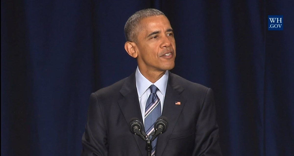 "President Obama speaks, ""God has not given us a spirit of fear"" at National Prayer Breakfast"