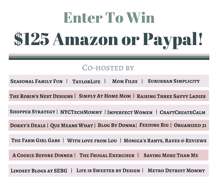 Giveaway: Win $125 Amazon Card or Paypal Cash