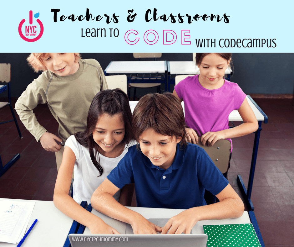 Teachers and Classrooms Learn to Code with CodeCampus