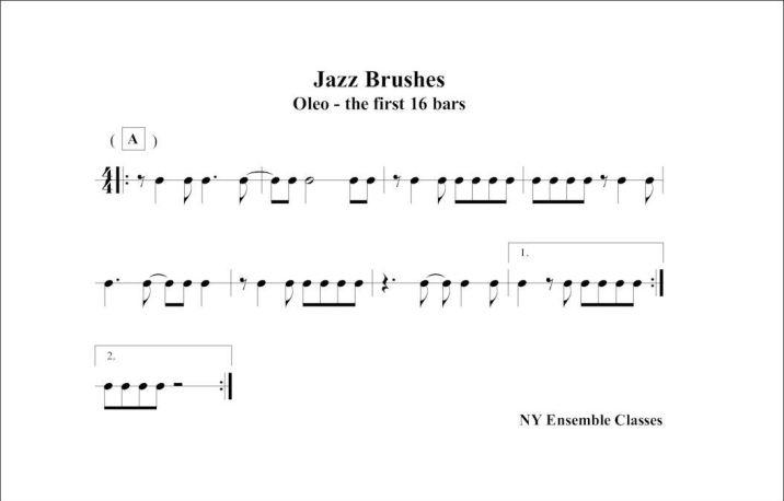 Jazz Brushes - Oleo