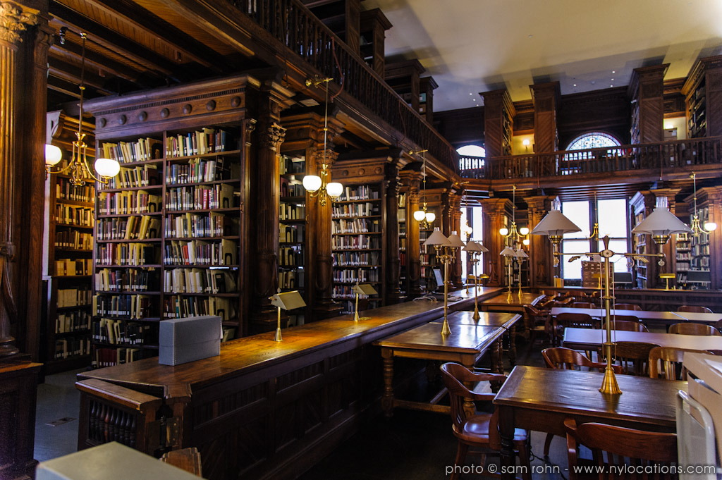 Classic library film photography locations sam for Classic home library