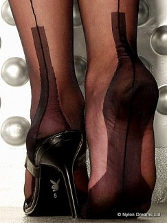 fully fashioned cuban heel stockings