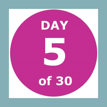 30-day-logo-day-5