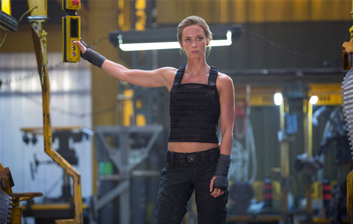Emily Blunt's Awesome Yoga Moves