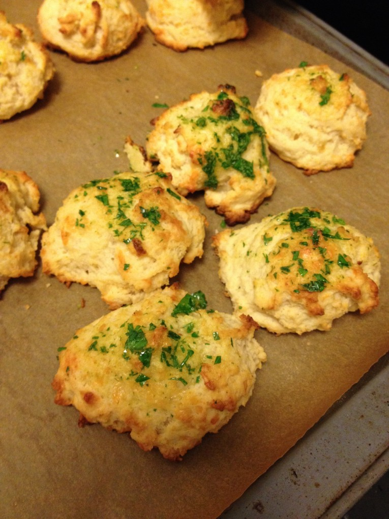 Easy, Melt-In-Your-Mouth Cheddar Biscuits: NYC Version