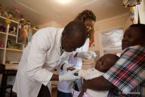 Nyumbani Lab Child HIV AIDS Africa Kenya