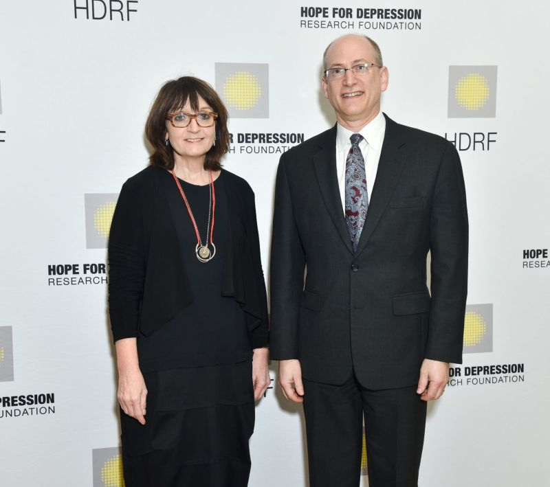 Dr. Helen Mayberg and Dr. John Krystal_Credit Jared Siskin