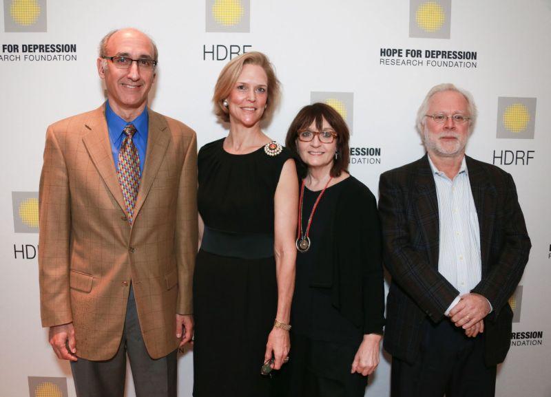 Jonathan Javitch, Louisa Benton, Helen Mayberg and Rene Hen _ Credit Victor Hugo