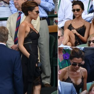 victoria-beckham-wearing-lace-slip-dress-wimbledon