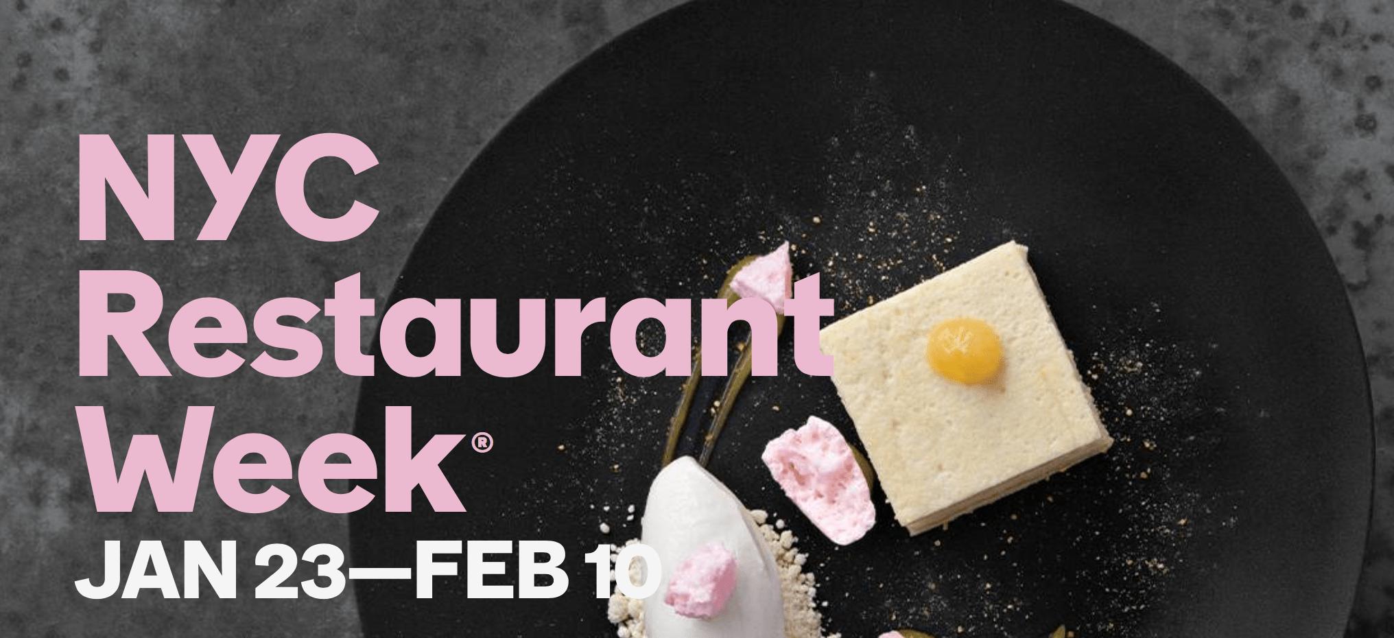 Restaurant Week, Winter 2017 Edition