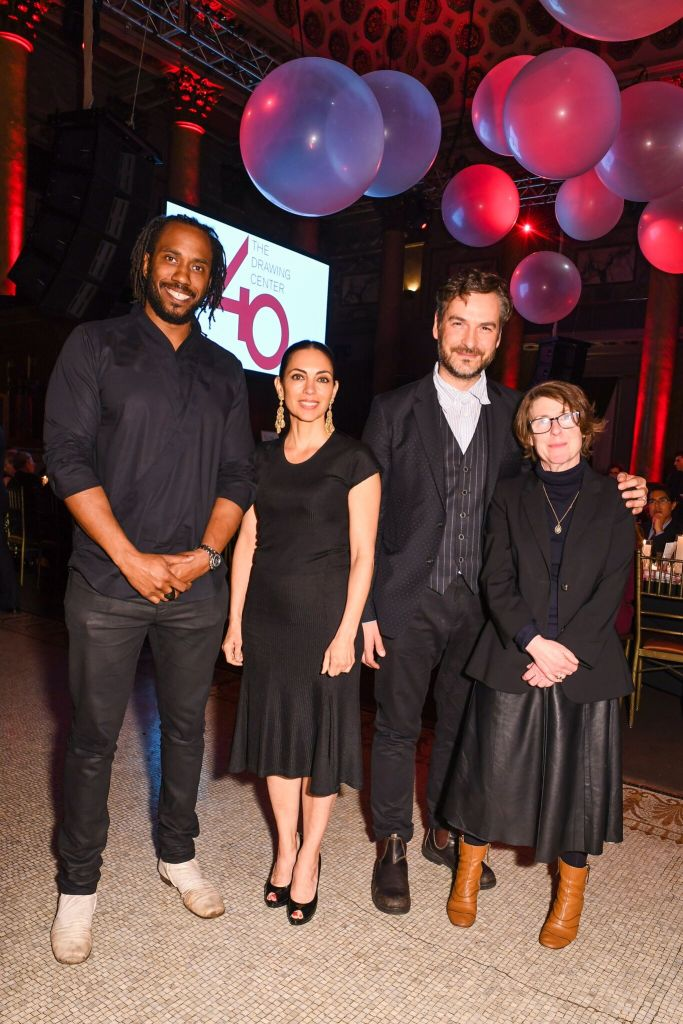 Rashid Johnson, Teresita Fernandez, Marcel Dzama and R.H. Quaytman_Photo Credit Hunter Abrams / BFA.com