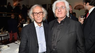 Galerie Gmurzynska Hosts Tefaf Opening Dinner Honoring Christo & Alexandre De Betak
