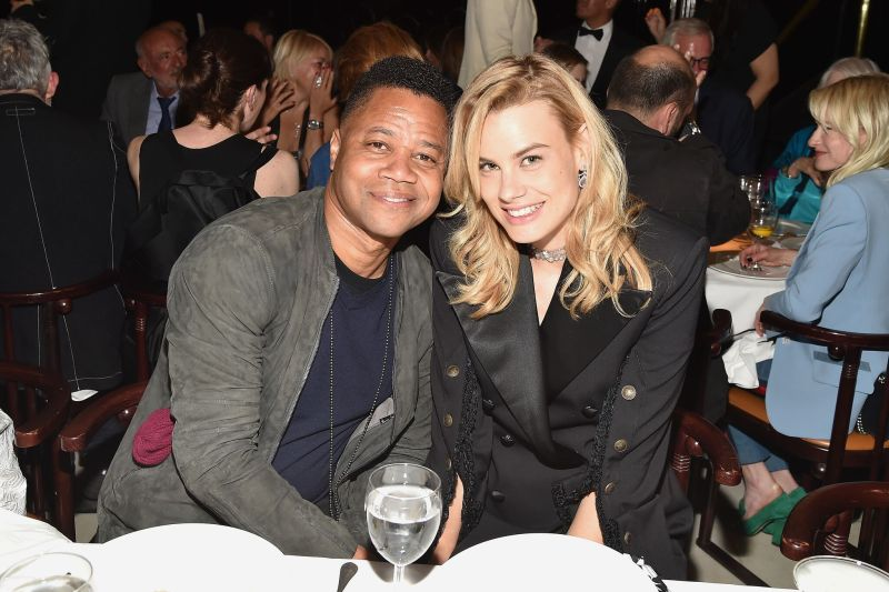 Cuba Gooding Jr. and Isabelle Bscher_Credit Patrick McMullan